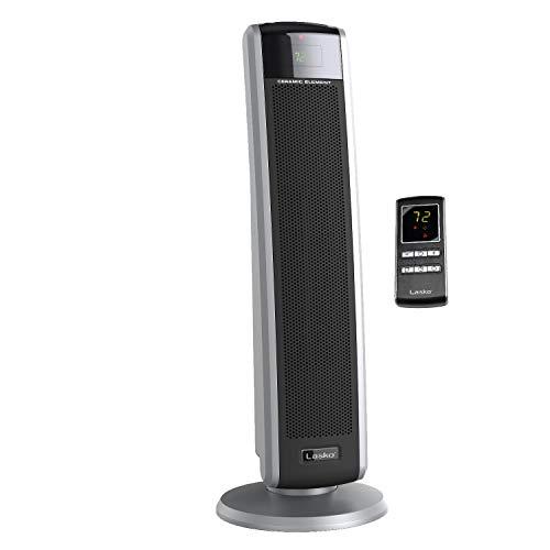 Lasko 5586 - Calentador digital de cerámica con mando a distancia