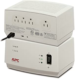 APC Line-R 1200Va Automatic Voltage Regulator, 120V, Lam/NAM
