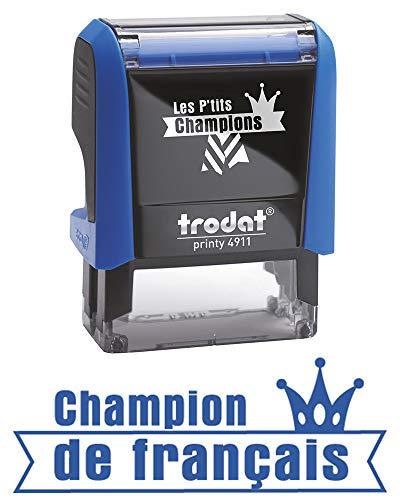 Trodat b14991.09die P 'Tits Champions Stempel Scolaire-Champion Französisch