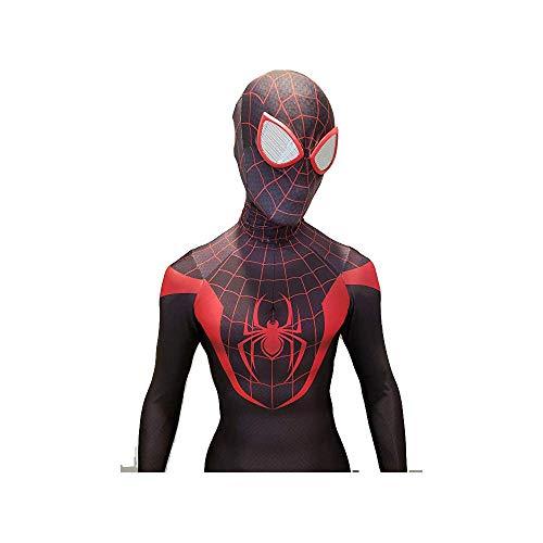 Cosplay Disfraz Miles Morales- Spider-Man Negro