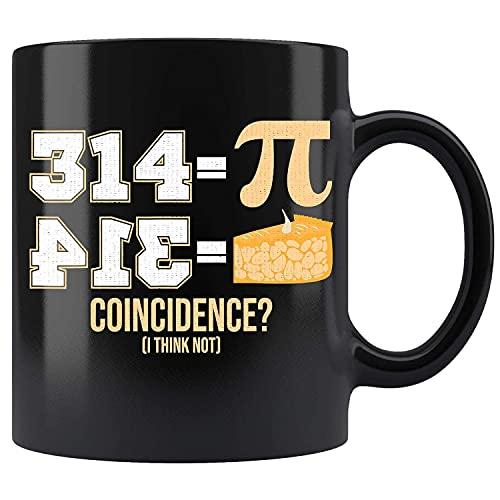 N\A Matemáticas Pi Ecuación Diseño Álgebra Fórmula Taza de café de cerámica Taza de té