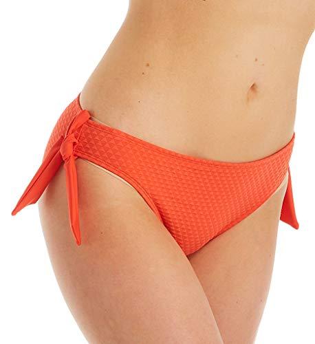 Panache Echo Side Tie Bikini Bottom, 2XL, Orange