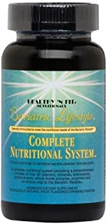 Healthy 'N Fit Bariatric Lifestyle Complete Nutritional System - 60 Chewable MultiVitamins. The Most Complete and Nutritio...