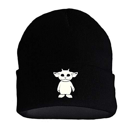 La Banda Twenty One Pilots Alien Logo Beanie Cap Bordado Sombrero de Punto Gorro elástico