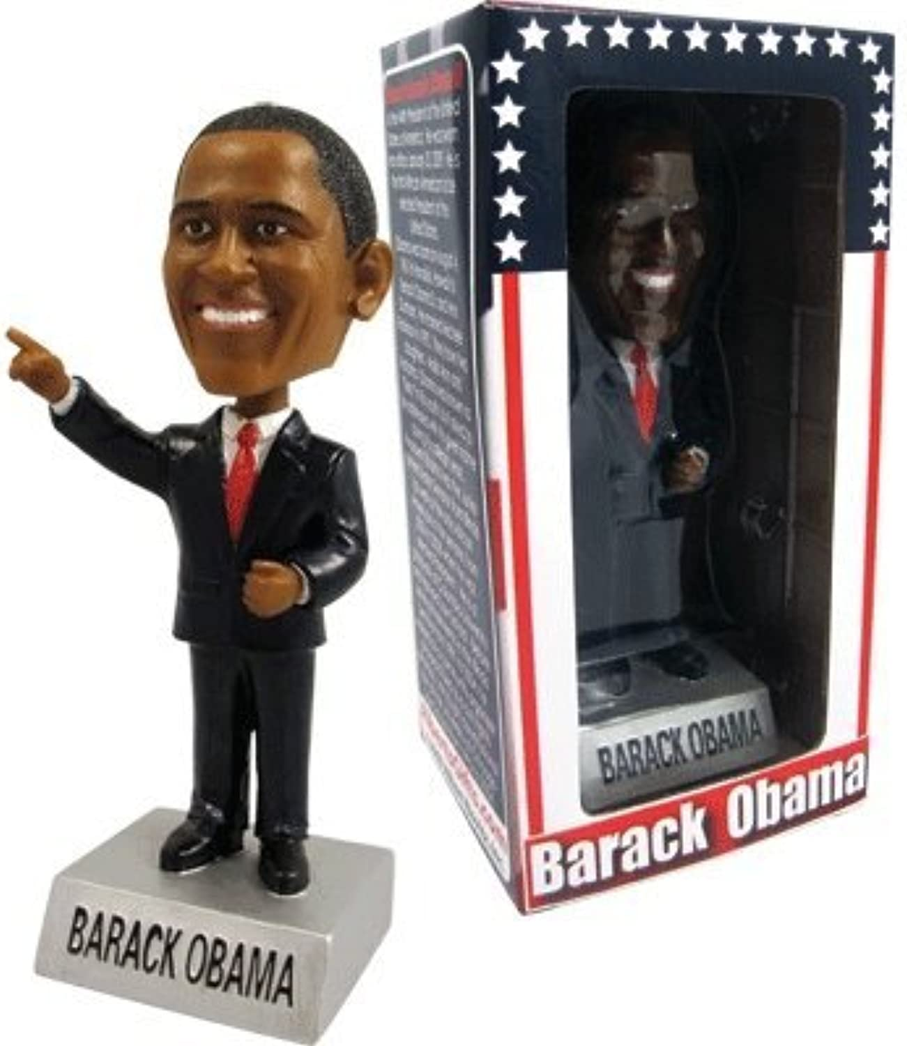 BARACK OBAMA BOBBLE HEAD 44TH PRESIDENT by Gift House