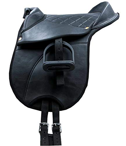 AMKA Reitkissen Pony-Shetty Sattel Pony Pad 4teilig Sattel für Kinder komplett