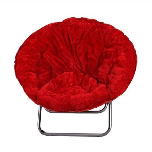 WYBFZTT-188 Presidente de la Luna roja, de Gran tamaño Plegable Perfecto for Descansar dormitorios o Cualquier habitación de múltiples Colores