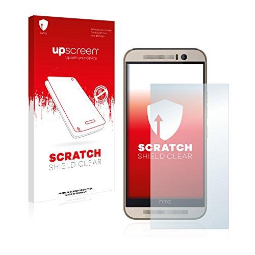 upscreen Schutzfolie kompatibel mit HTC One M9s – Kristallklar, Kratzschutz, Anti-Fingerprint