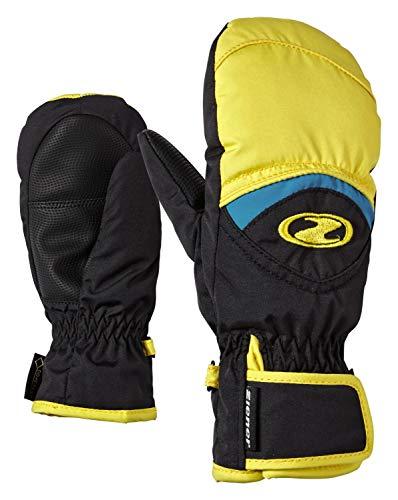 Ziener Lisbo GTX (R) Handschuh Mini, Unisex Kinder 40 gelbe Sonne