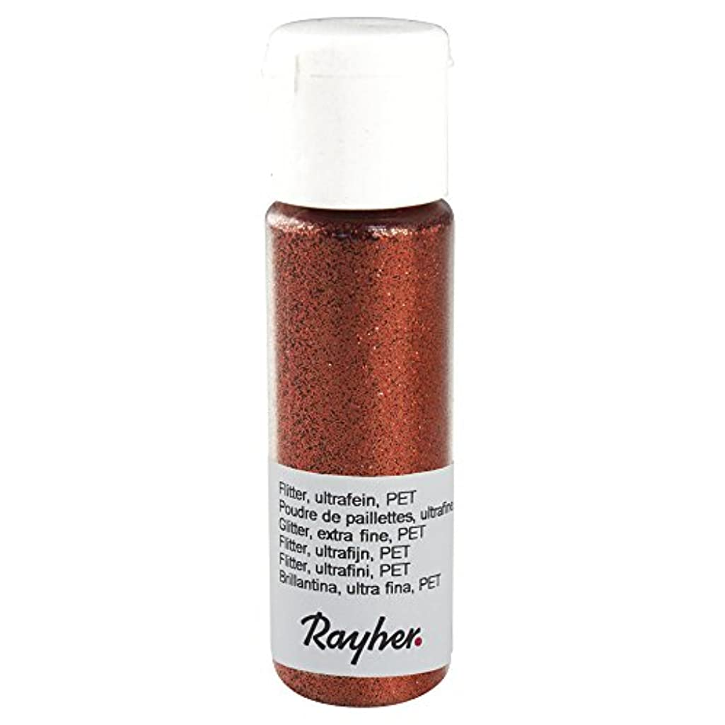 RAYHER 39420640?Glitter Ultra Fine PET Small Fl? ¤ Schchen 20?ml Brilliant Head