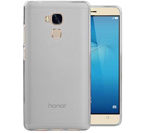 Tumundosmartphone Funda Gel TPU para Huawei Honor 5C / GT3 Color Transparente