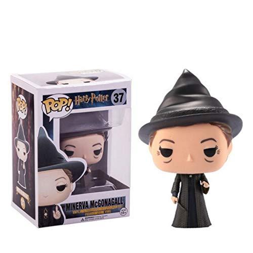 LLFX POP Abbildung Vinyl Harry Potter-Minerva McGonagall Puppe Ornamente Sammler Modell Spielzeug 3.75inch for Boys