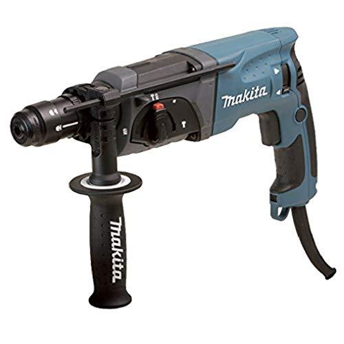 Makita HR2470FT Bohrhammer SDS-Plus, Blau, Silber