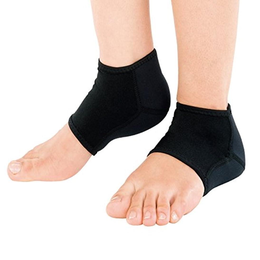 メモ嵐の作り靴下 かかと 保湿 チタン 素足小町 レギュラー