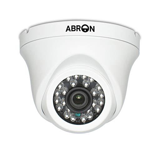 Abronis 5MP POE IP Cámara domo (Power Over Ethernet), Cámara de seguridad de red para vigilancia en el hogar, Detección de movimiento, Cámara CCTV impermeable de día/noche para interiores y exteriores