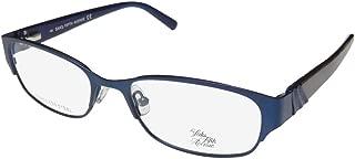 Saks Fifth Avenue 263 Womens/Ladies Designer Full-rim Spring Hinges Premium Quality Fashionable Eyeglasses/Eye Glasses