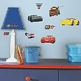RoomMates Disney Pixar Cars 3 adhesivos de pared para pegar y pegar