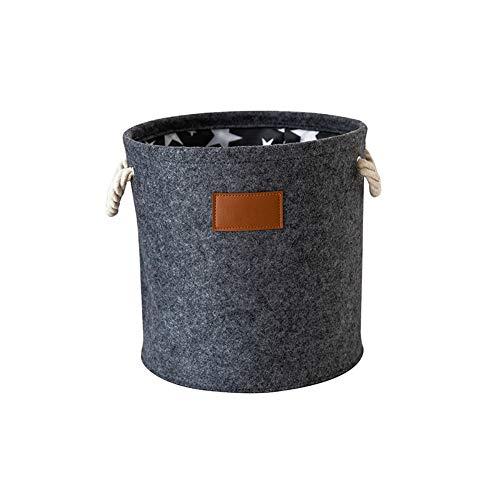 MSNLY Cubo de Almacenamiento de Fieltro al por Mayor Artículos para el hogar Cubo de Almacenamiento de Tela de Fieltro Cubo de lavandería portátil Personalizable Plegable.