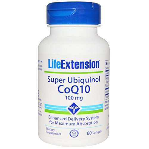 Super Ubiquinol Coq10 with Enhanced Mitochondrial Support (60) by Life Extension Biotin by Apran