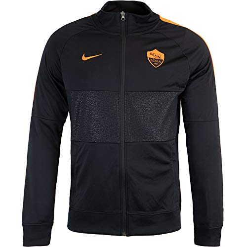 Nike AS Roma Trainer Trainingsanzug (XL, Black)