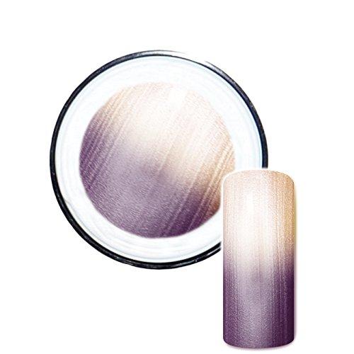 Thermogel #6 kalt: purple/warm: gold Farbgel UV-Gel Thermo Effekt 5ml - Made in Germany