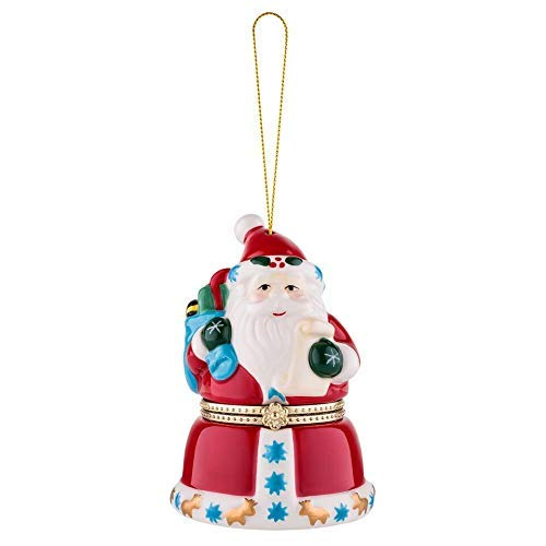 Mr. Christmas 18071 Porcelain Music Box - Santa Weihnachtsdekoration, multi