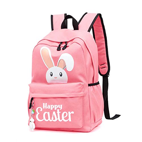 School rugzak, School tas voor middelbare scholieren, Mode Leisure Travel Bag 43 × 30 × 20cm,Pink