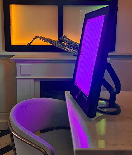Lámpara bronceadora + estimulación colágeno facial antiarrugas Casa Solarium