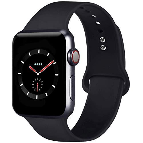 AIGENIU コンパチブル Apple Watch バンド、Series5/4/3/2シリコン アップルウォッチ バンド 38mm 40mm ML
