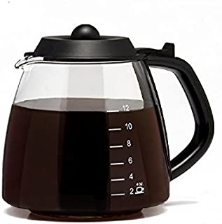CAFÉ BREW COLLECTION 12 Cup Replacement Carafe for most Cuisinart, Mr. Coffee, Bunn, etc