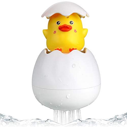 Gresunny Baby Badespielzeug Ente Badewannenspielzeug für Babys Kleinkinder Schwimmende Sprinkle Ei Kinder Wasserspray Spielzeug Nettes Badespielzeug für Badewanne Dusche Schwimmbad