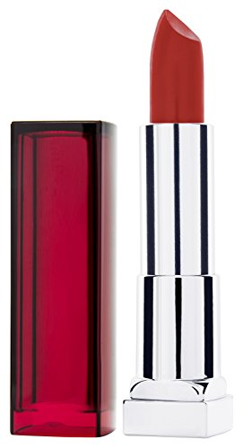 Maybelline New York Make-Up Lippenstift Color Sensational Lipstick Coral Flourish/Elegant rood met verzorgende werking, 1 x 5 g