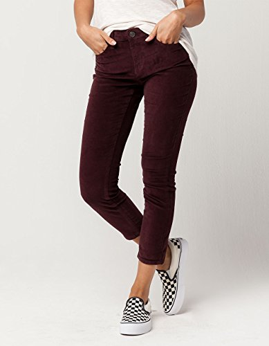 Volcom Super Stoned Ankle – Pantalon Jean Femme, Femme, B1931707_5, Bleu/Prune, 5