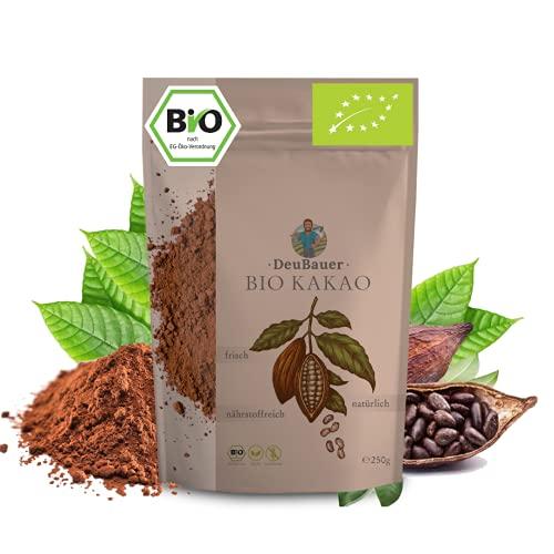 Bio Kakaopulver ohne Zuckerzusatz von Daubauer