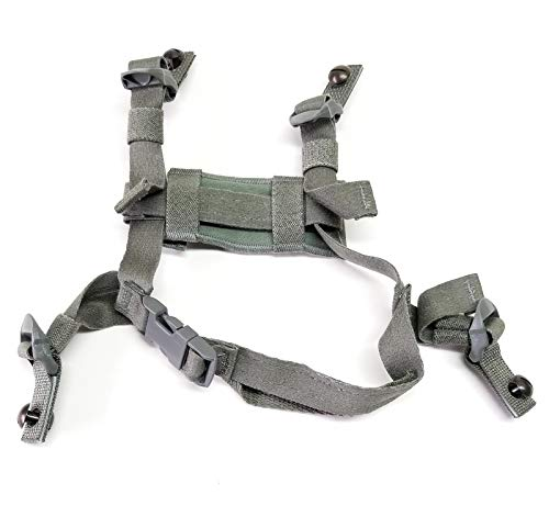 USGI ACH 4 Point Chin Strap with Bolts and Screws
