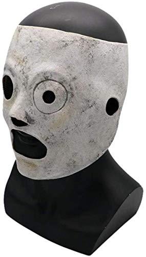 HWXDH Máscara-1Pcs Slipknot Band Máscara De Halloween Cosplay Máscara De Látex TV Performance Party Decoración Máscara Cosplay Props, A, A