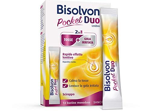 Bisolvon Duo Pocket Lenitivo – Contro tosse e gola irritata anche fuori casa