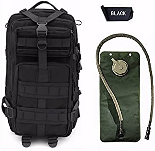 Niree Motorbike Backpack Motorcycle Bag Outdoor Sports Riding Package 25L Black With 3 Liter Hydration Water Bladder System For Ducati Super Sport Mark 3 Classic 800 900 1000