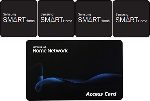 Samsung RFID Sticky Key for Samsung Door Locks Quantity 4 + 1 RFID Card
