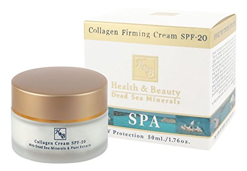 H&B Dead Sea Treatment Collagen Firming Cream SPF-20 (50ml)