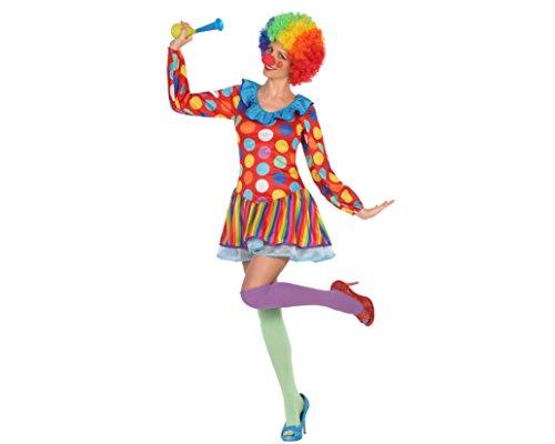 Atosa 15387 Clown costume delle donne - Taglia M