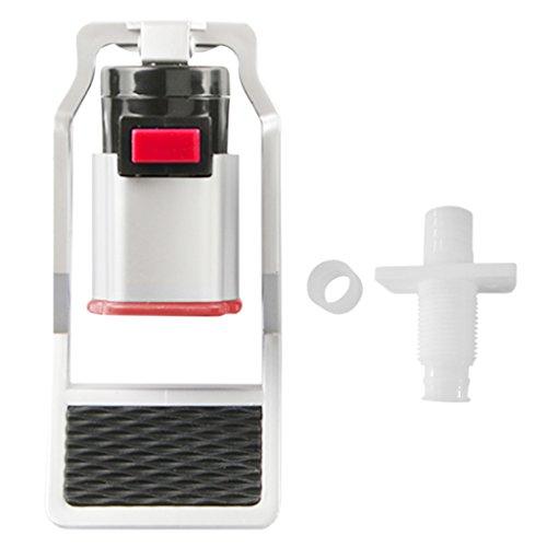 fivekim Dispensador de Agua Caliente Llave de plástico Interruptor de Salida para Evitar Quemaduras para niños, purificador de Agua, válvula de Agua fría, Color Rojo