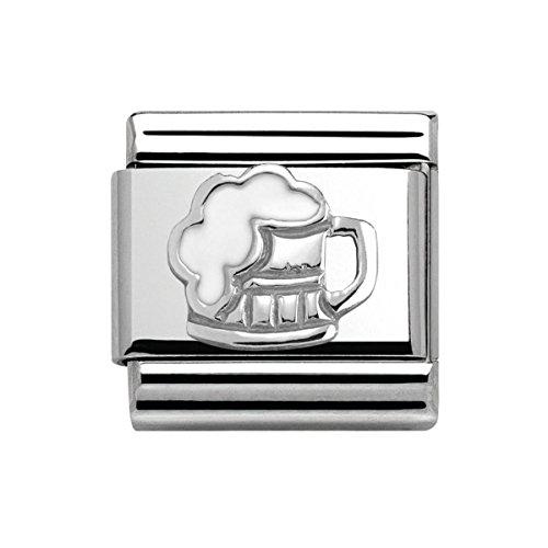 Nomination 330202/34 - Charm da donna, in argento 925 smaltato