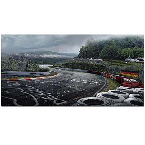 Pegatina Nurburgring  marca