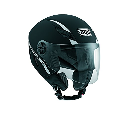 AGV 0421A4A0 Casco Moto Blade E2205 Solid, Nero, 5
