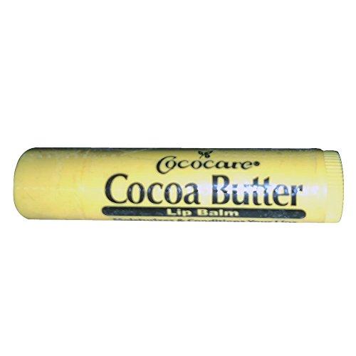Cococare Cocoa Butter Lip Balm 0.15 oz (Pack of 2)