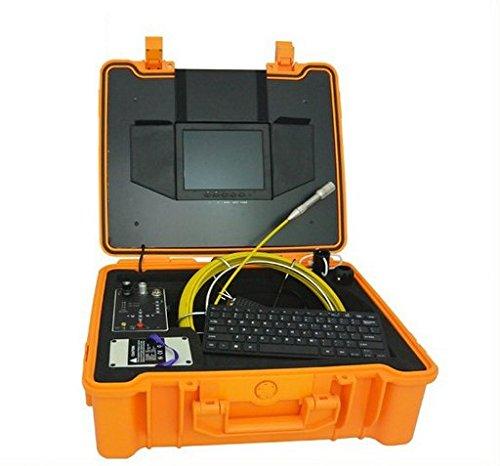 GOWE tubo cámara de sistema de cámaras de inspección con 23mm cabeza & 5.2mm 20M Fibra de vidrio varilla de empuje Cable Sensor tamaño: CMOS, resolución Horizontal: 420TVL; Sistema de señal: NTSC