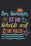 Journal für Strandgänger: Lustiges Notizbuch für Sonnenanbeter mit linierten Journalpapier | 120 Seiten um Ideen, Notizen, Gedanken und Termine auf ... Geschenkidee für stolzen Strandgänger