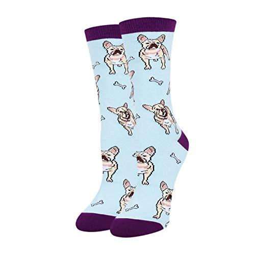 Bulldog Socksfor Women Girls English Bulldog Gifts I LoveBulldog Socks