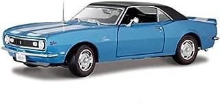1968 Chevrolet Camaro Z28 Coupe Blue 1:18 Maisto Diecast Car Model
